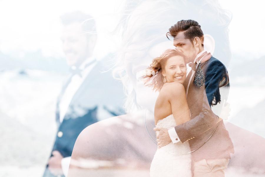 After Wedding Shoot in den Alpen
