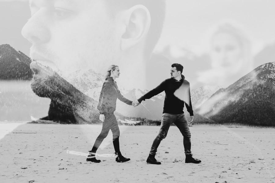 LOVE SHOOT in den Alpen
