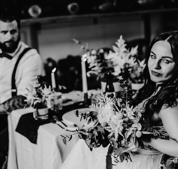 Concept Shoot - Garage Wedding