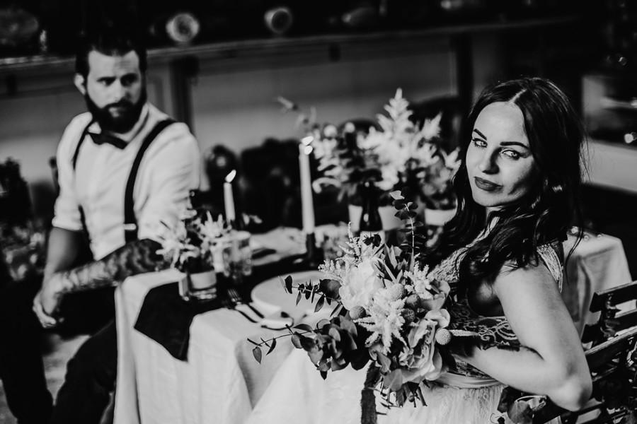 Concept Shoot - Garage Wedding